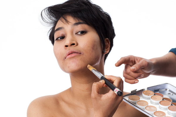 Choose the shade of concealer based on where you will use it.