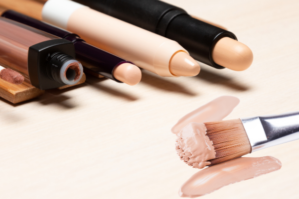 Concealers are Packaged as Sticks, Creams, Liquids or Powders