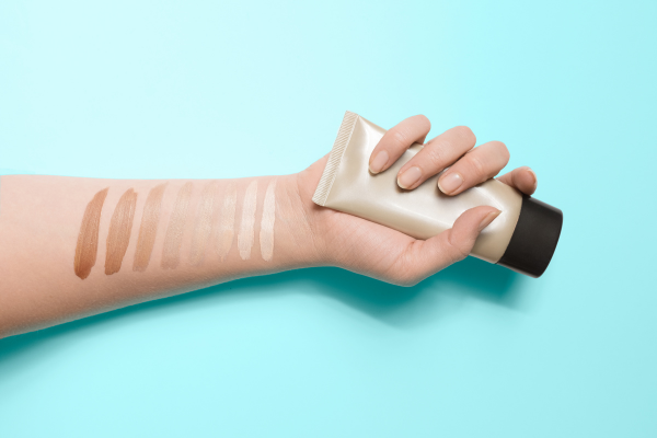 Test Foundation Shade By Applying to Your Wrist